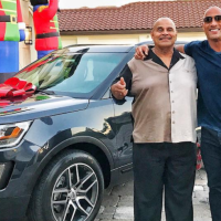 The Rock pens down an emotional open letter as he gifts his dad a car for Christmas.