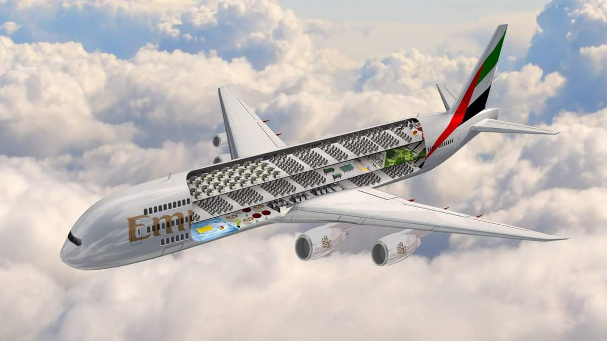 Photo: Emirates airline set to unveil the worlds largest flying machine